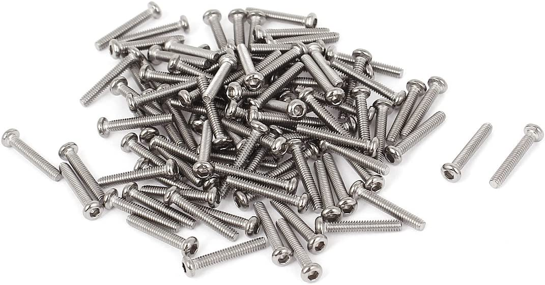 Natural Finish Retractable Captive Panel Fasteners Press in Style #10-32 X 0.34 THK=0.036 Slotted Drive 20 pcs