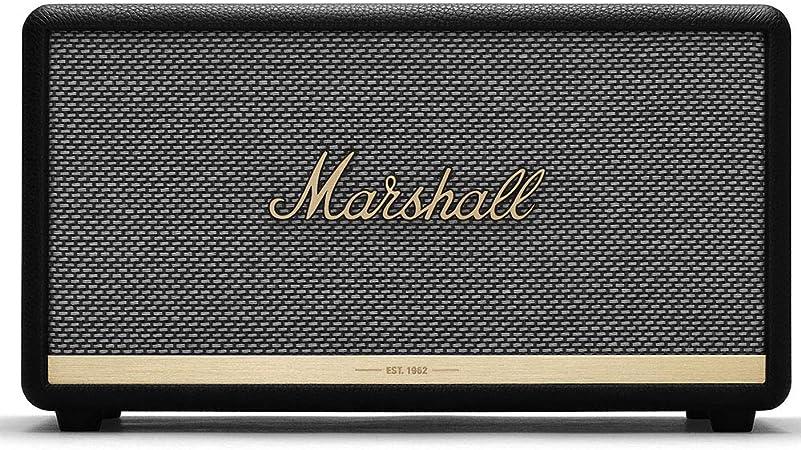 Marshall Stanmore Ii Bluetooth Lautsprecher Schwarz Eu Audio Hifi