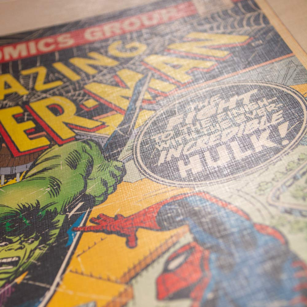 Grupo Erik Print Marvel Comics Spider-Man Multicolor 30x40 cm