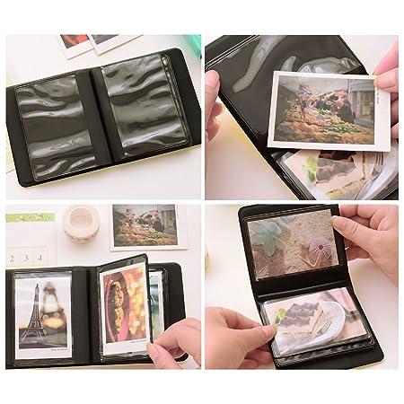 Zhi Jin Cuir Mini 36 poches Album photo pour Fujifilm Instax Polaroid  Taille Macaron Tableau Housse de rangement livre Cadeau vert menthe   Amazon.fr  ... a84b4b67a46f
