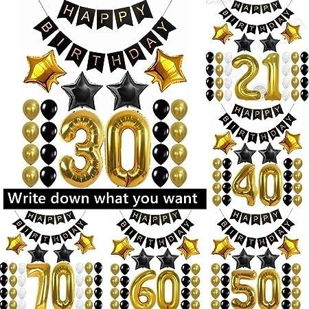 Warring States® Kit de decoración de fiesta de cumpleaños ...