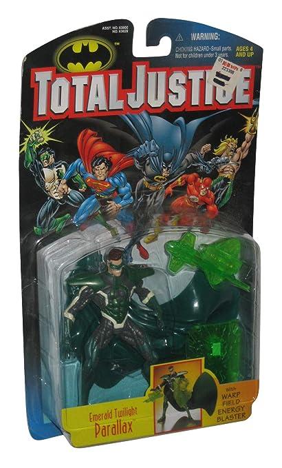 Amazon.com: Hasbro DC Comics Total Esmeralda de la Justicia ...