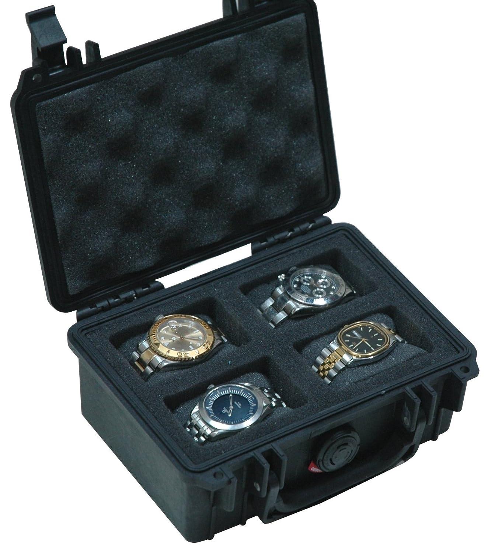 Case Club Waterproof 4 Watch Travel Case