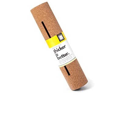 Luxury Cork Yoga Mat - Non Slip, Soft, Sweat Resistant. Thicker, Longer, and Wider For More Comfort and Support. Tough Enough For Hot Yoga. Optional Built-in Pose Alignment Lines (80  x 26  x 6.5mm)