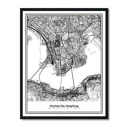 Amazon.com: Susie Arts 11X14 Unframed Kowloon City Hong Kong ... on chicago city street map, denver city street map, miami city street map, western street map, philadelphia city street map, beacon hill street map, wan chai street map, taipei city street map, cape town city street map, city of flint street map, boston city street map, london city street map, shanghai city street map, seattle city street map, jerusalem city street map, kiev city street map, kathmandu city street map, birmingham city street map, austin city street map, houston city street map,
