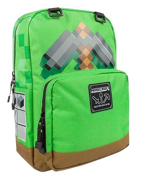 nuovo stile fd492 974c2 Minecraft Pickaxe Adventure zaino