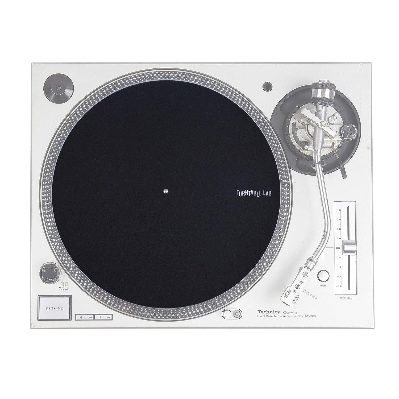 Amazon.com: Turntable Lab: Pro Thin Slipmats (estilo ...