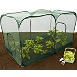Leisure Traders Versatile Pop-up Poly House Cage 1.35m High Garden Poly-Greenhouse
