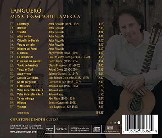 Tanguero, Music from South America: Christoph Denoth , Varios ...