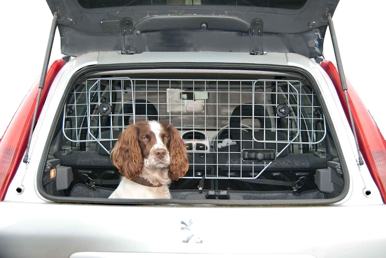Hundegitter Fürs Auto Schutzgitter Trenngitter Verstellbar Hundeschutzgitter Für Den Kofferraum Für Kopfstützen Metall Auto Gitter Gepäckgitter Kofferraumgitter Haustier