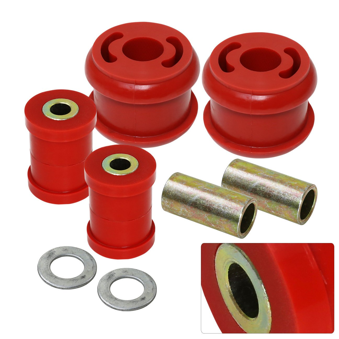 For Subaru Forester Sh Impreza WRX Legacy Outback Polyurethane Front Lower Control Arm Bushing Upgrade Replacement