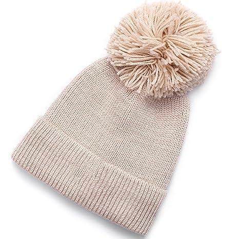 HAKN Cappello caldo del cappello di inverno di inverno di inverno di lavoro  a maglia Cappello 38b1f6ea75d3