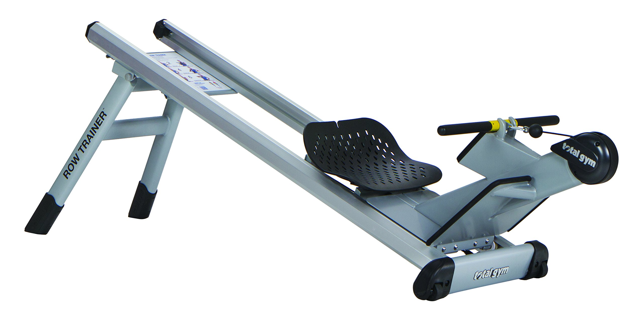 Total Gym Row Trainer, Silver & black