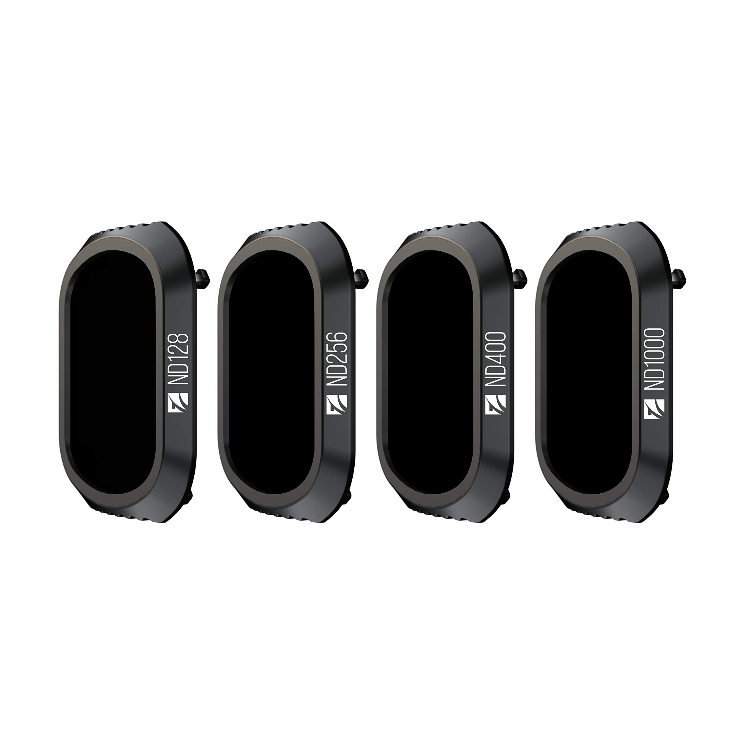 Freewell Long Exposure Photography- 4K Series - 4Pack ND128, ND256, ND400, ND1000 Camera Lens Filters Compatible with DJI Mavic 2 Pro Drone