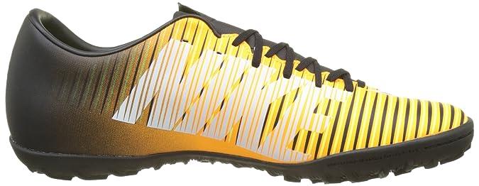 Amazon.com | Nike Kids MercurialX Victory VI Turf Soccer Shoes (11 D(M) US) Orange/Black | Soccer