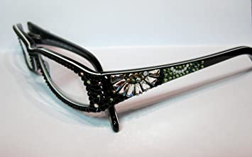 1a2269a7e5d Image Unavailable. Image not available for. Color  Reading Glasses 2.00 Jimmy  Crystal of NY with Sparkling Swarovski Elements