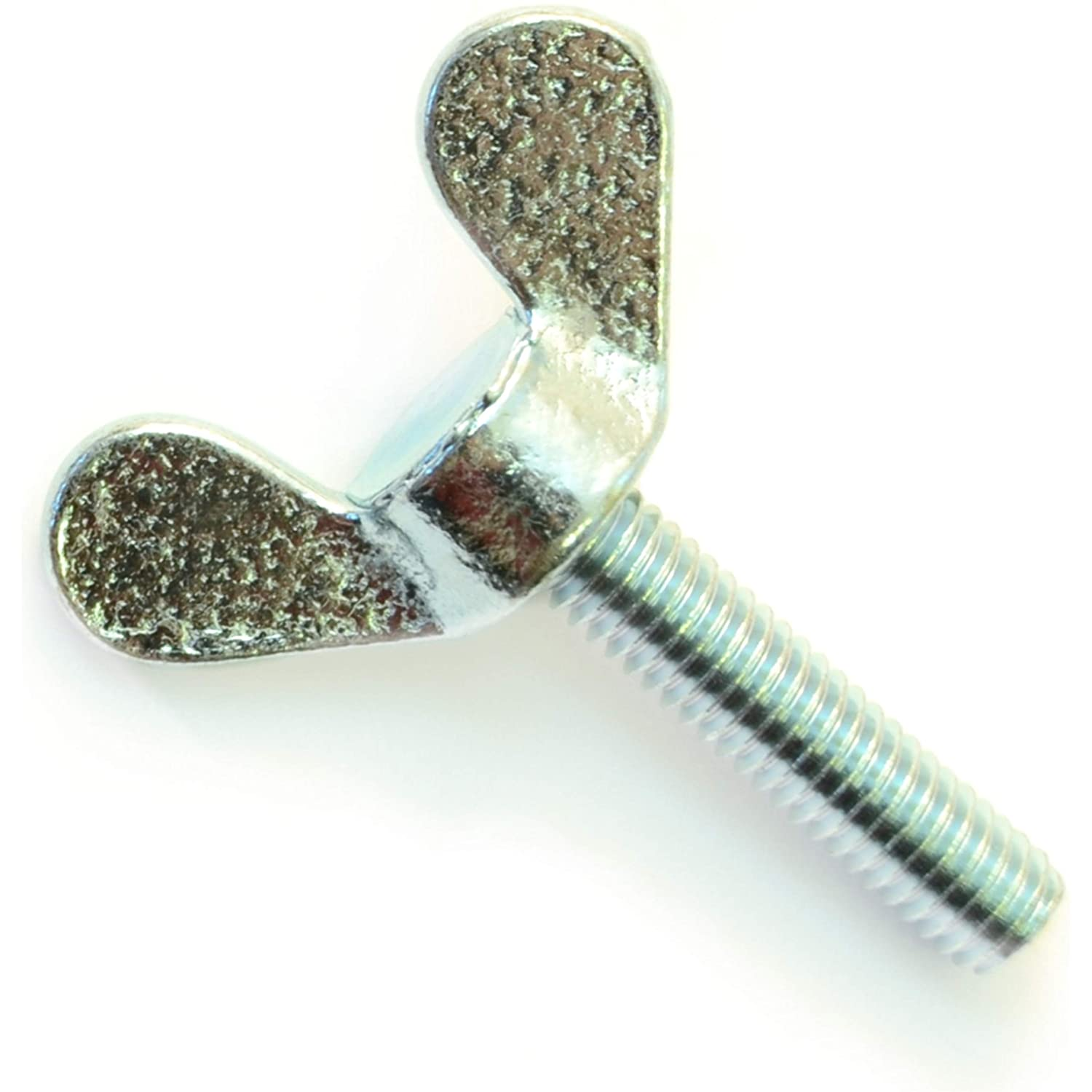 Hard-to-Find Fastener 014973456702 Thumb Screws 6mm-1.00 x 16mm Piece-6 Midwest Fastener Corp