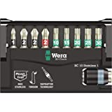 Bit-Sortiment, Bit-Check 10 Stainless 1 SB, 10-teilig, Wera 05073630001