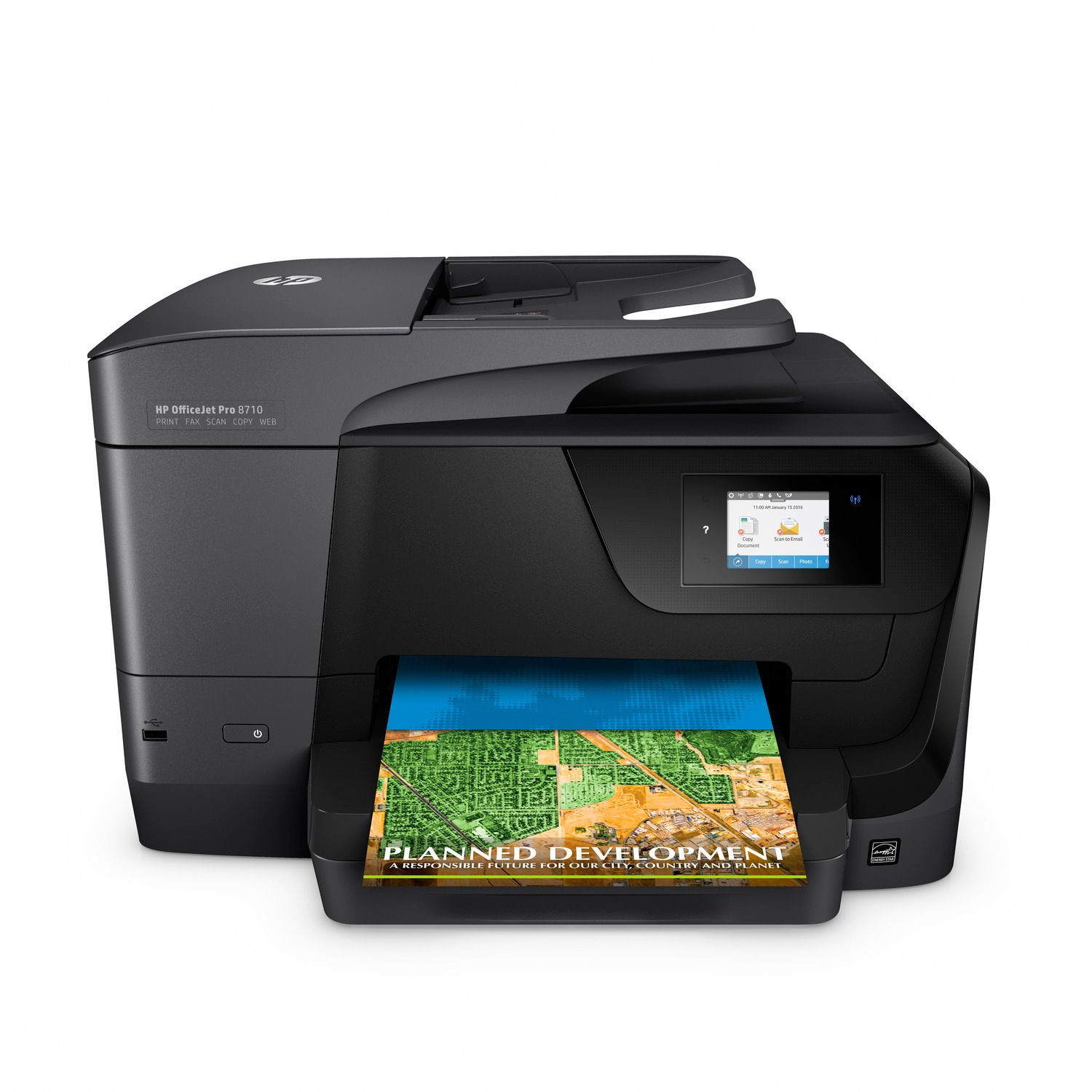 HP OfficeJet Pro 8710 All-in-One Printer (Certified Refurbished) by HP