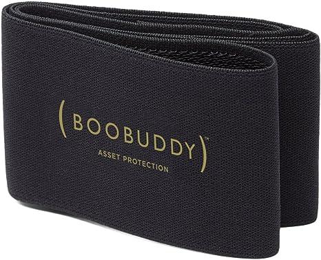 TALLA Grande (para talla 44+). Booband Boobuddy Banda Ajustable de para Apoyo Pecho mamaria, Sujetador Deportivo Alternativo