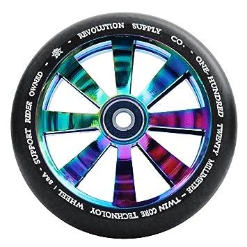 Revolución doble núcleo 120 mm patinete rueda - varios ...