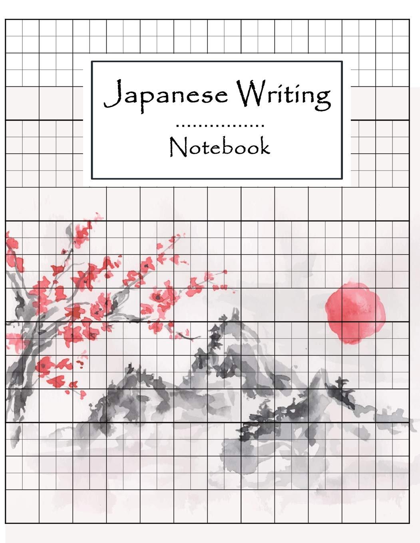 Japanese Writing Notebook: Syllabary Hiragana Katakana ...