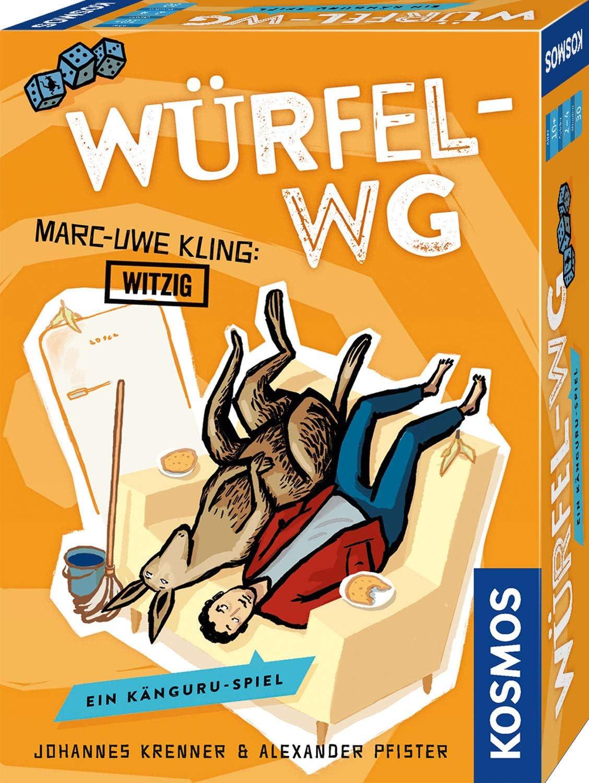 Ein Känguru-Spiel Kartenspiel Würfel-WG