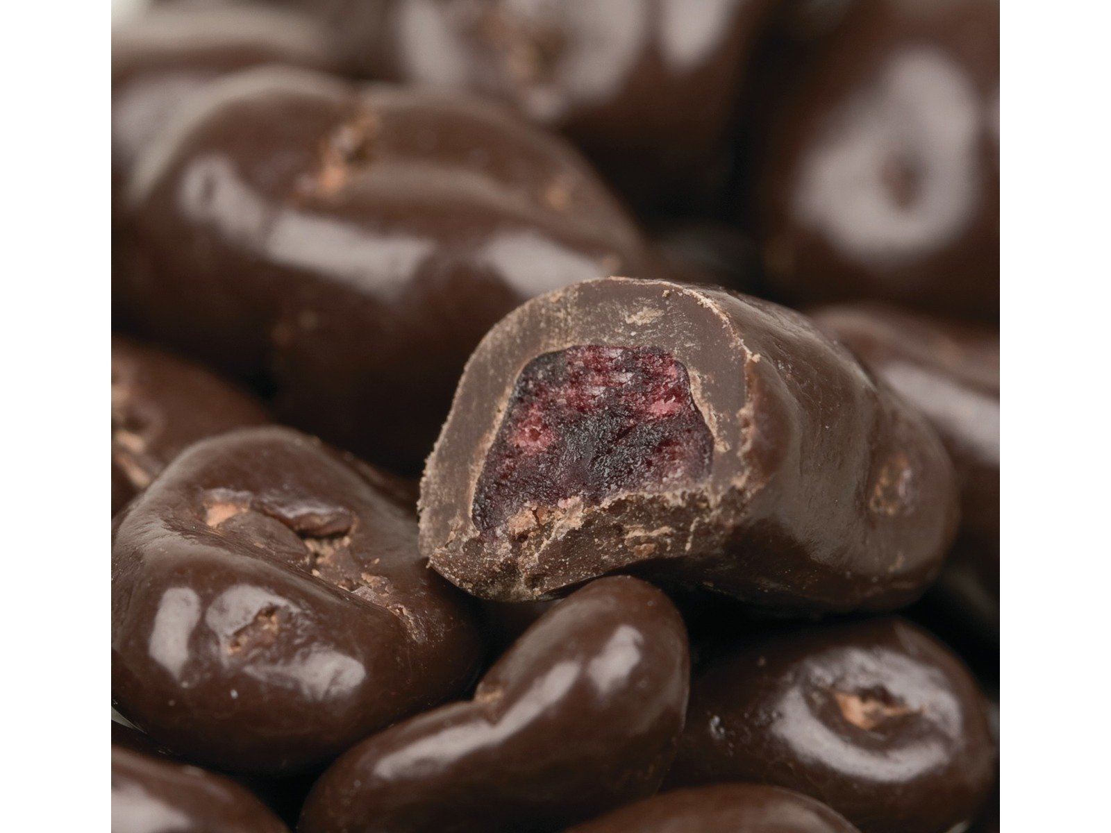 Dark Chocolate Covered Dried Cranberries 1 pound