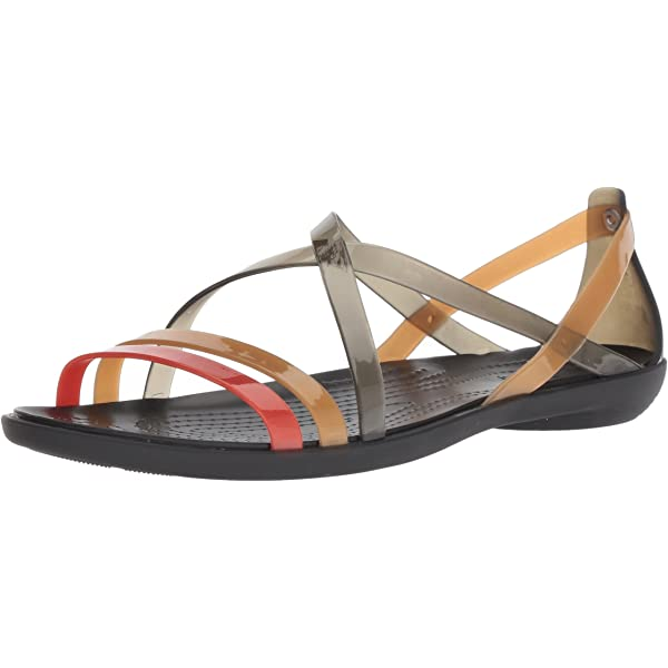 Choose SZ//Color Crocs Women/'s Drew Barrymore Isabella Strappy Sandal Flat