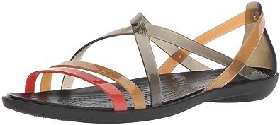 321333ed2fa2c7 Crocs Women s Drew Barrymore Isabella Strappy Sandal Flat