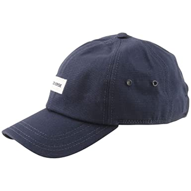 89cd0195497 Converse Charles Dad Strapback Navy Baseball Cap Hat (One Size Fits Most)  at Amazon Men s Clothing store
