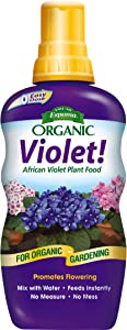Espoma Violet! Liquid Plant Food, Natural & Organic African Violet Plant Food, 8 fl oz, Pack of 2