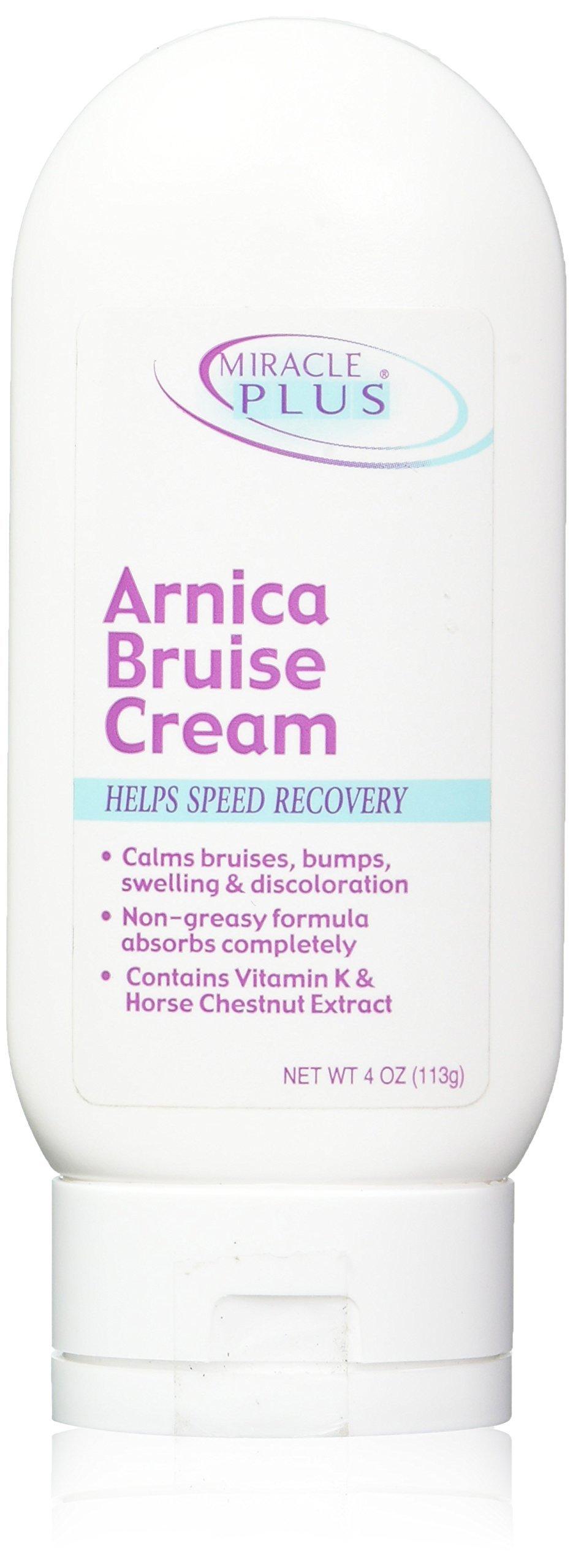 Miracle Plus Arnica Bruise Cream,4 oz
