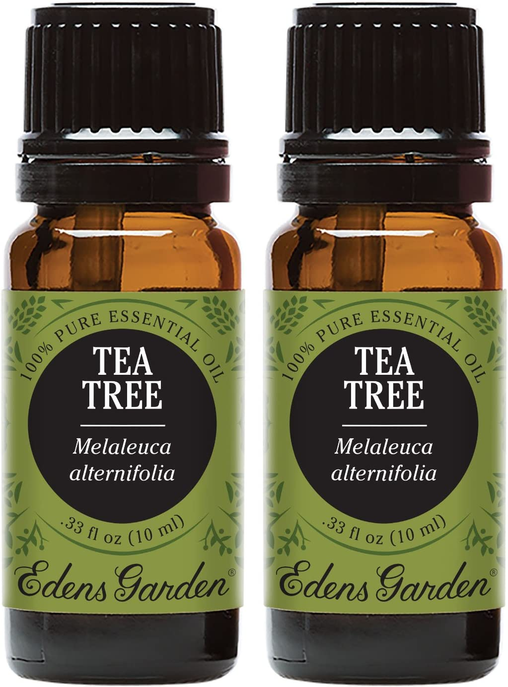 Edens Garden Tea Tree Essential Oil, 100% Pure Therapeutic Grade (Allergies & Inflammation) 10 ml Value Pack