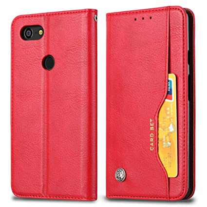 official photos d71da 2e2a7 Amazon.com: Happon Google Pixel 3 Wallet Case, Stylish Slim PU ...