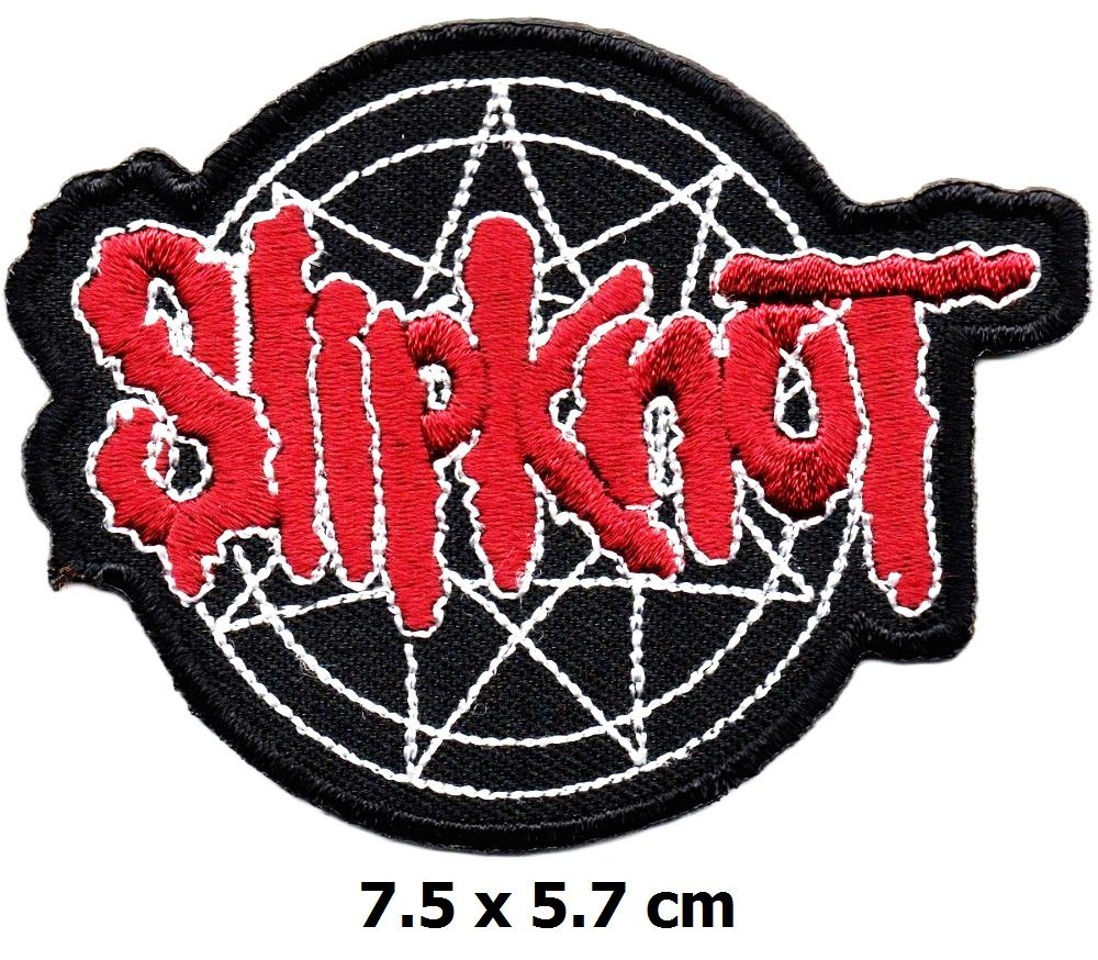 Slipknot Patch Iron on Logo Vest Jacket Cap Hoodie Backpack Patch Iron On//sew on Patch