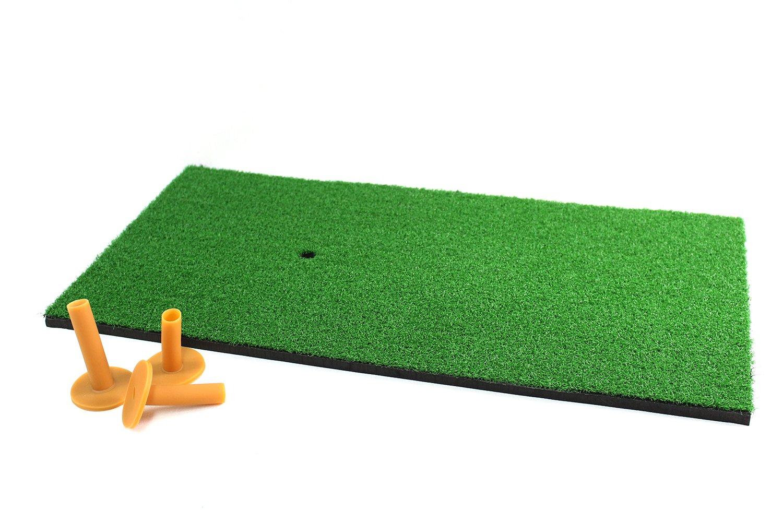 POSMA HM040AA Golf Backyard Golf Mat 12''x24''(30 x 60 CM), 30pcs Multi Color PU Practice Balls, 2pcs Tour Ball, and Cinch Sack Carry Bag by POSMA (Image #5)