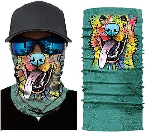QHJ Pasamontañas, toalla de Multifunción Original, máscara ...