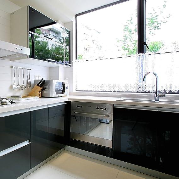 3 Rollen] KINLO 61cm x 5m Hochglanz Selbstklebend Küchenschrank ...