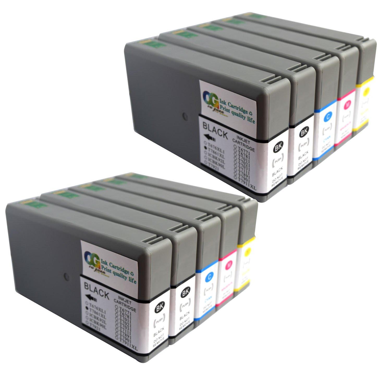 ogouguanと互換性リサイクルインクカートリッジ交換用の786 786 X L、高Yield、Workforce Pro wf-4630 wf-4640 wf-5690 wf-5110 wf-5620 wf-5190プリンタ – 4ブラック、2シアン、2マゼンタ、2 Yell B07F6Z1BVY