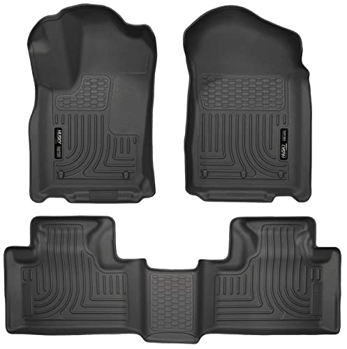 Husky Liners 99051 Black Weatherbeater Front & 2nd Seat Floor Mats