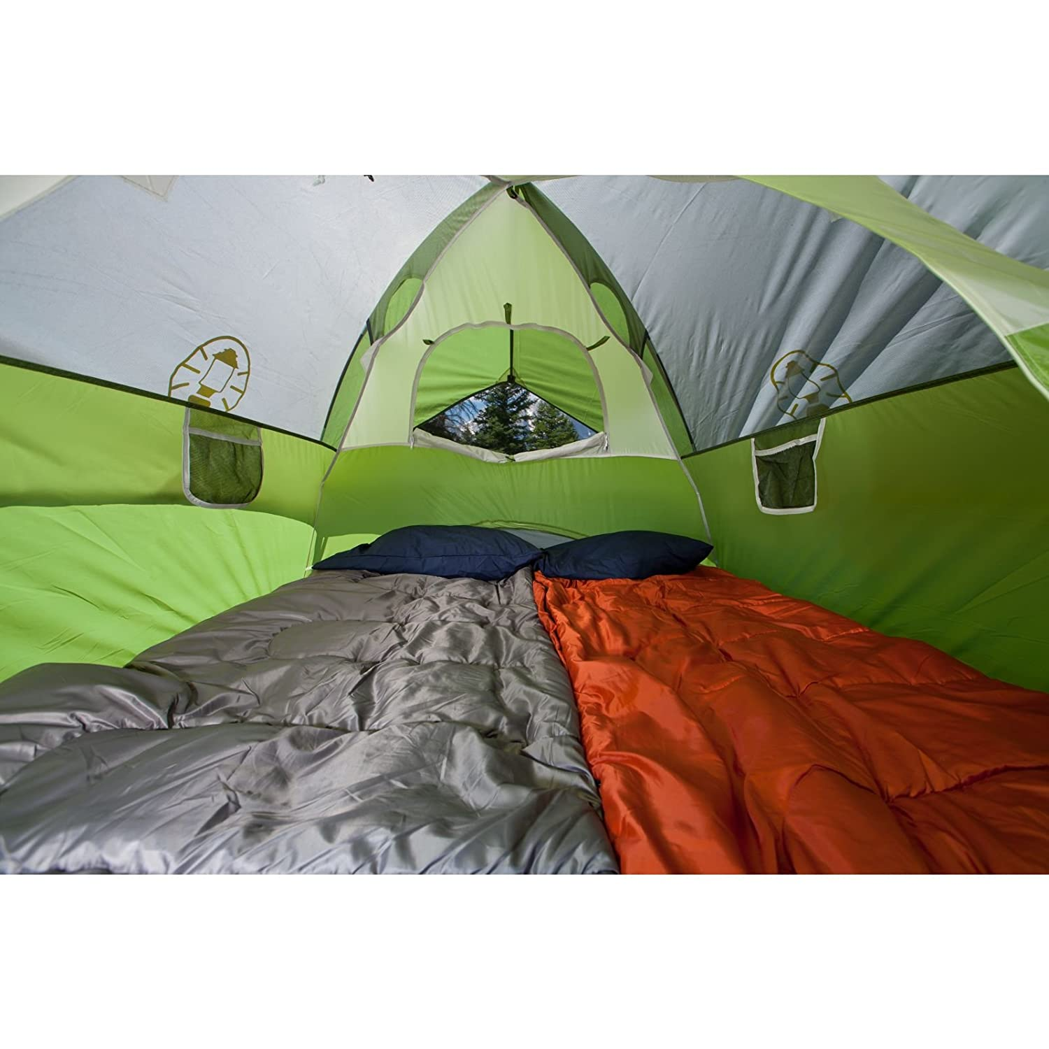 Amazon Coleman Sundome 3 Person Dome Tent Green Family Tents Sports Outdoors