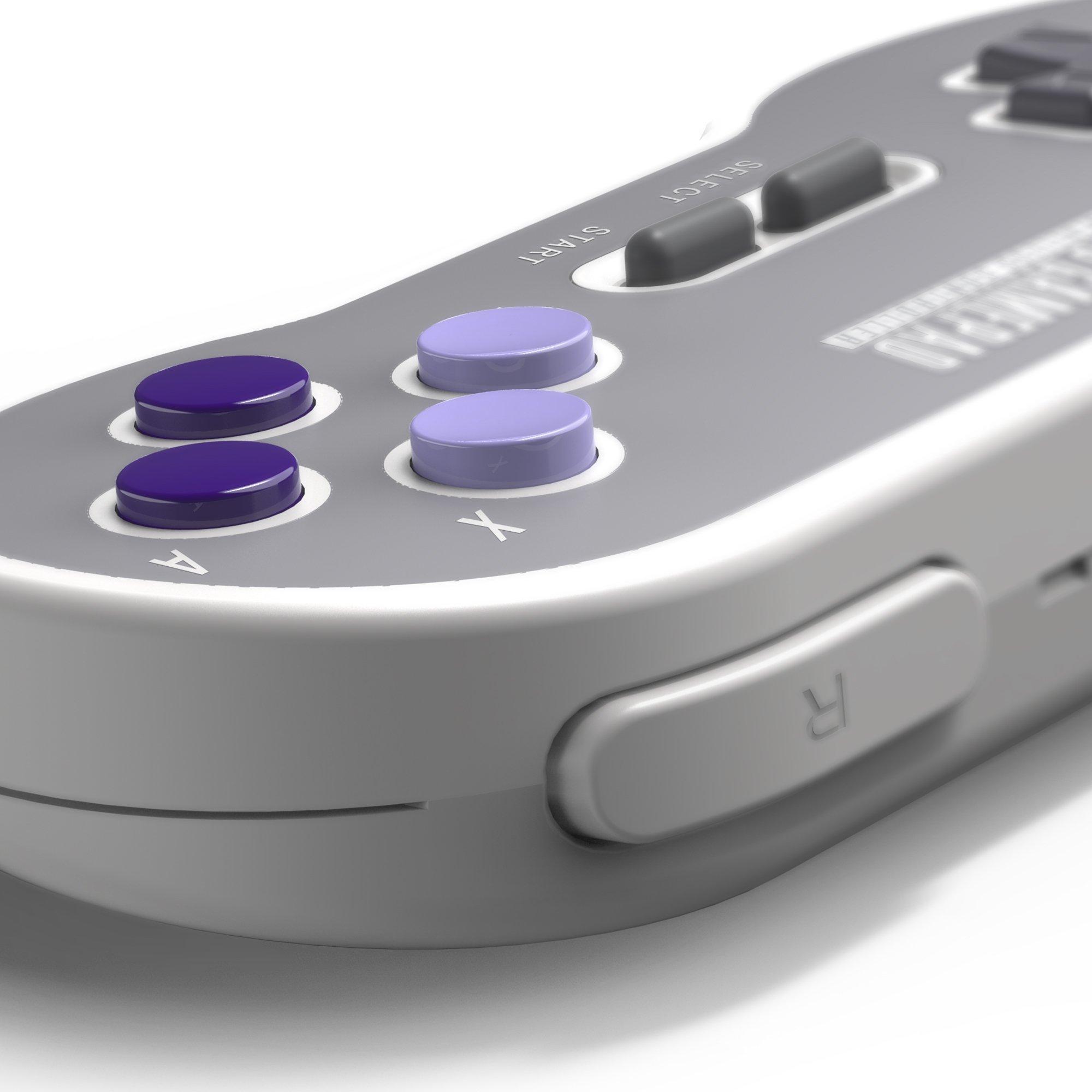 8Bitdo SN30 2.4G Wireless Controller for SNES Classic Edition [nintendo_super_NES] by 8Bitdo (Image #6)