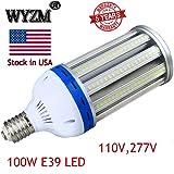 LED Corn Light Bulb,100Watt E39 Mogul Base,5000K