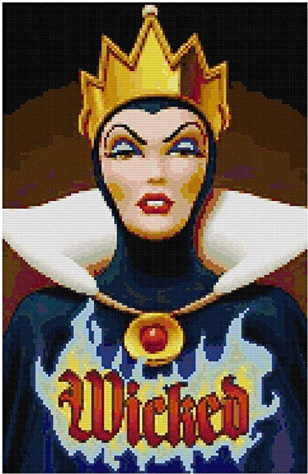 Embroidery Designs Snow White #K198 Cross Stitch Kit Disney Stitching Needlepoint Kits How to Cross Stitch Cross Designs