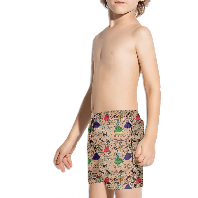 Etstk Dance Hipster Kids Comfortable Swim Trunks for Men