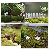 AZYC Miniature Garden Ornaments,109 Pcs Miniature