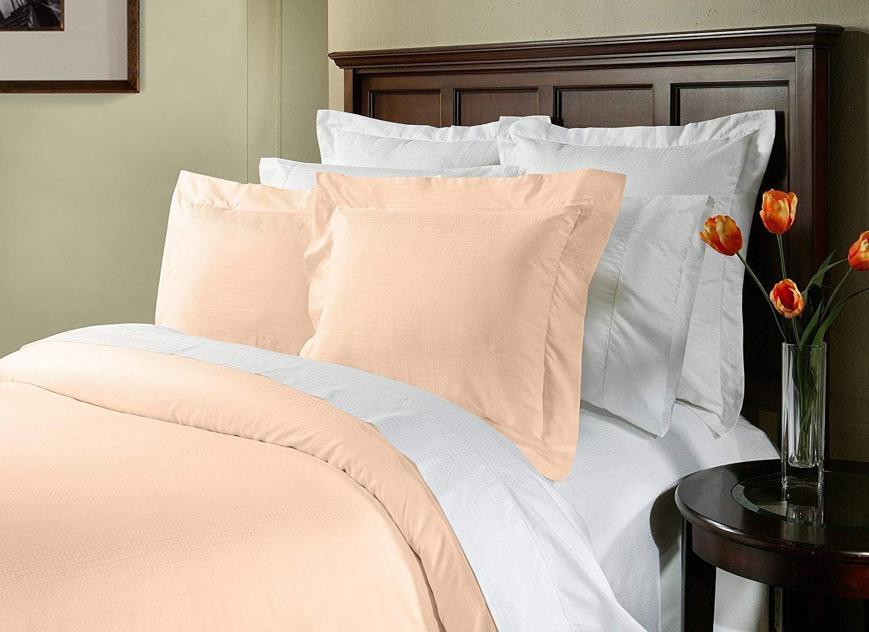 White, Single Soft Sleep/® Hotel Quality 525 TC Pima Cotton Flat Sheet