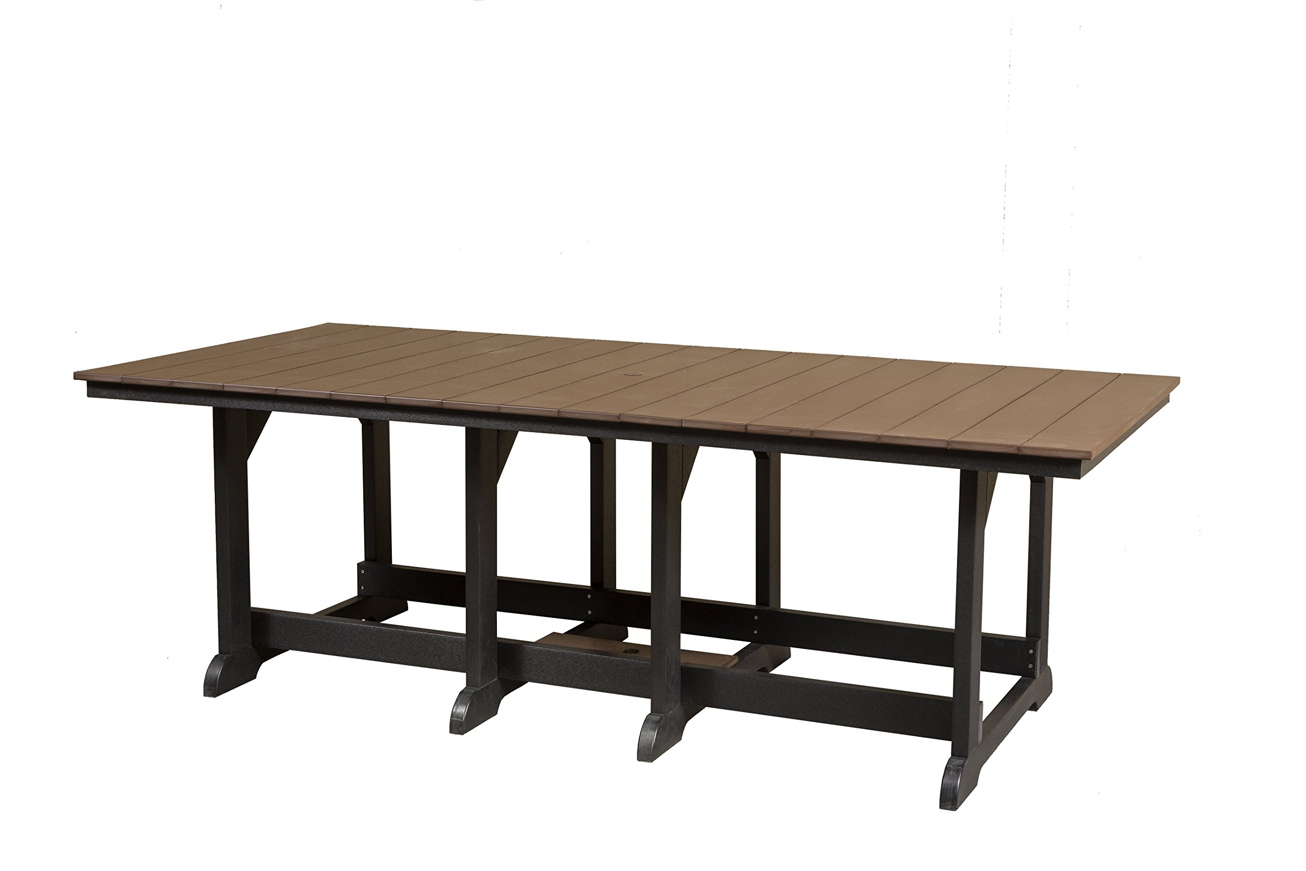 Little Cottage Company Heritage Table, 44'' x 94'', Light Gray by Little Cottage Company