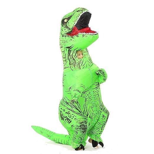 JYZCOS - Disfraz Hinchable T-Rex de Dinosaurio: Amazon.es ...